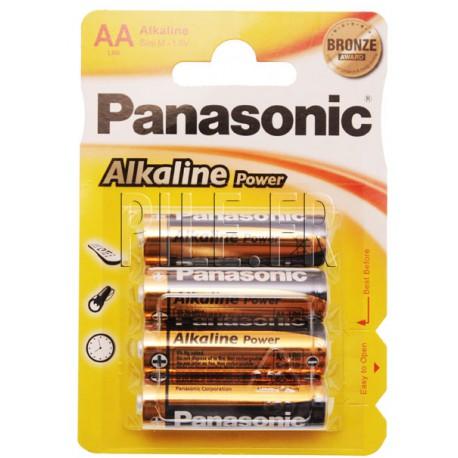 Pile LR6 AA Panasonic Alcaline Power