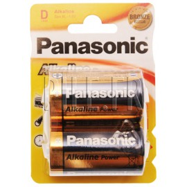 Pile LR20 D Panasonic Alcaline Power