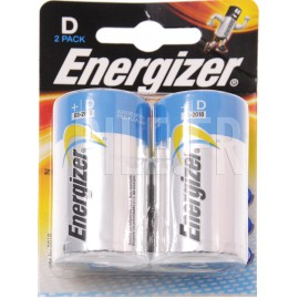 Piles LR20 D Energizer HighTech