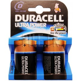 Piles LR20 D DURACELL Ultra Power