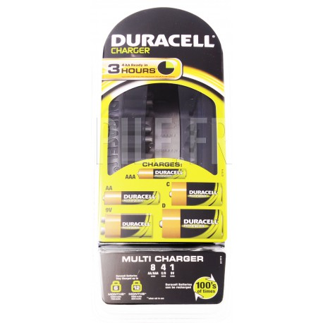 Chargeur pile 1 heure Universel Duracell Multi