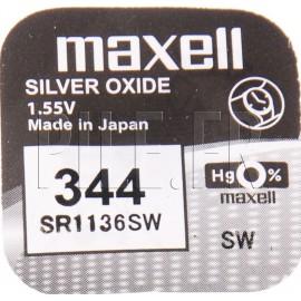 Pile 344 SR1136SW Maxell