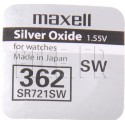 Pile 362 SR721SW Maxell