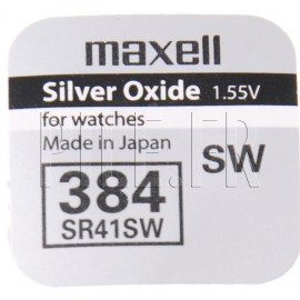 Pile 384 SR41SW Maxell