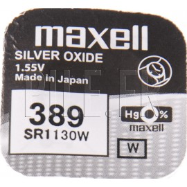 Pile 389 SR1130W Maxell