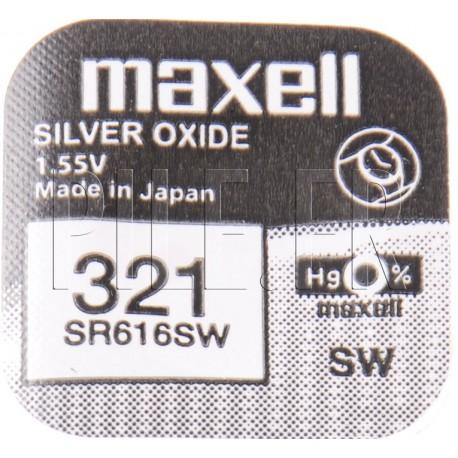 Pile 321 SR616SW Maxell