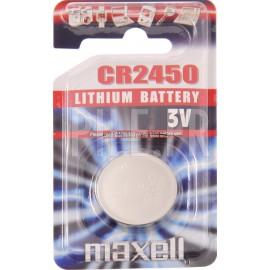 Pile CR2450 MAXELL 3V
