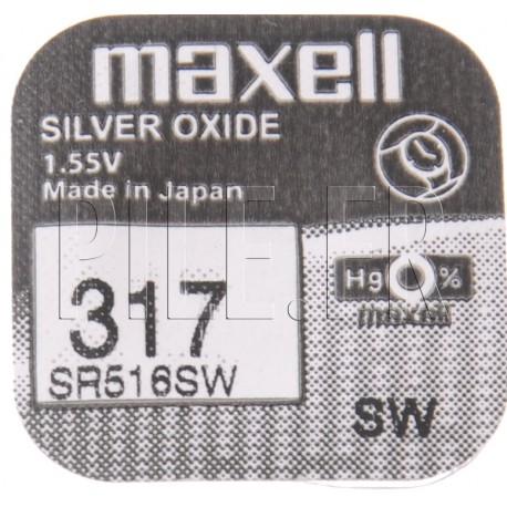 Pile 317 SR516SW Maxell