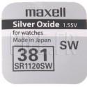 Pile 381 SR1120SW Maxell