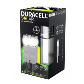 Pack lampes solaires 5 lumens Duracell GL004NP4DU - GL004NT6DU