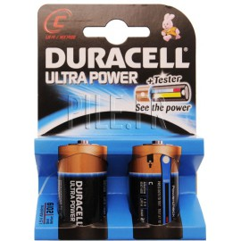 Piles LR14 DURACELL Ultra Power