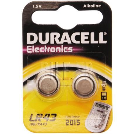 Pile LR43 Duracell