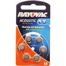 Piles auditives RAYOVAC 13