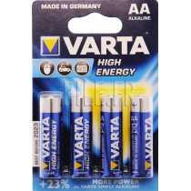 Piles LR6 AA Varta High Energy 1,5V