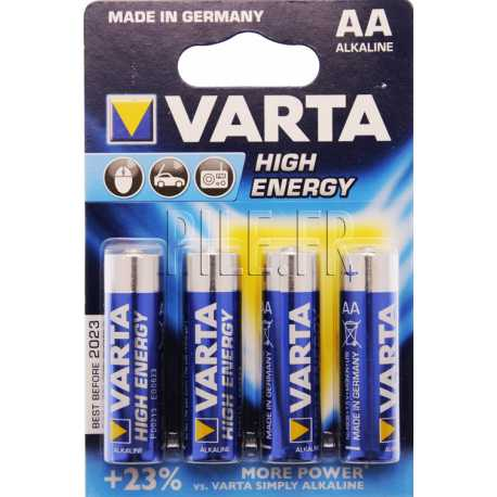 Piles LR6 AA Varta High Energy 1,5V