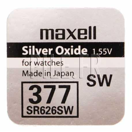 Pile 377 / SR626SW Maxell