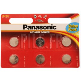Pile CR2025 Panasonic