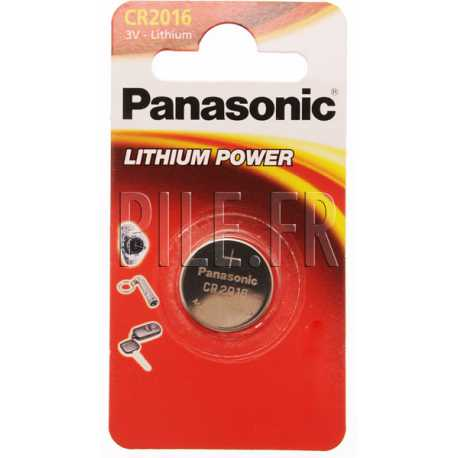 Pile CR2016 Panasonic