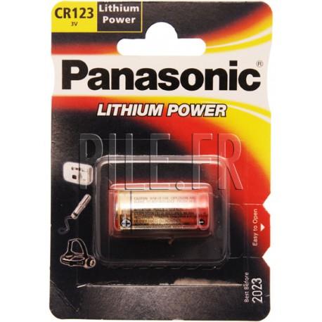 Pile CR123 Panasonic