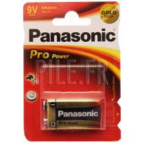 Pile 6LR61 9V Panasonic Pro Power