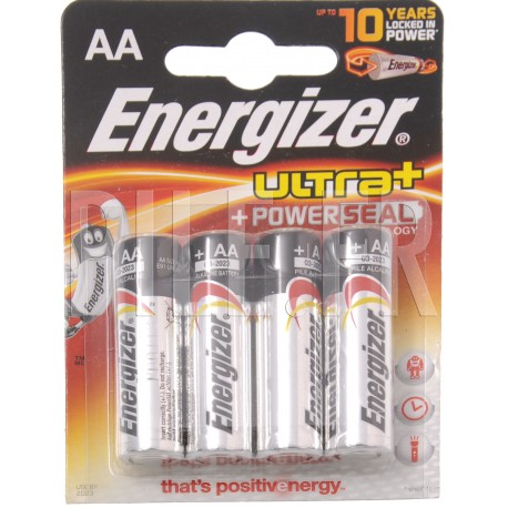 Piles LR6 AA Energizer Max