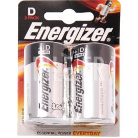 Piles LR20 D Energizer Alcaline Power