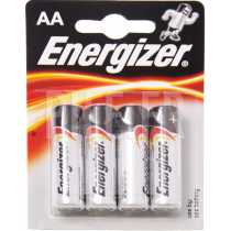 Piles LR6 AA AM3 Energizer Alcaline Power