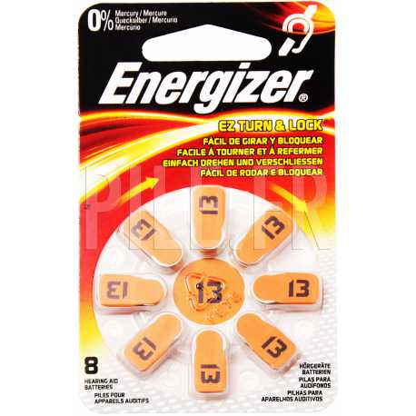 Piles auditives 13 Energizer