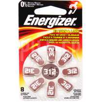 Piles auditives 312 Energizer