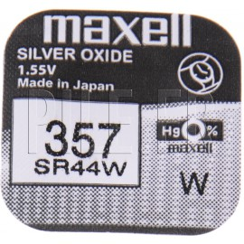 Pile 357 SR44W Maxell