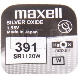 Pile 391 SR1120W Maxell