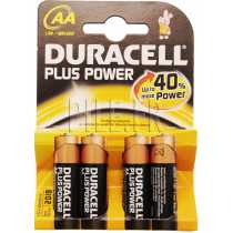 Piles LR6 AA AM3 DURACELL Plus Power