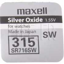 Pile 315 SR716SW Maxell