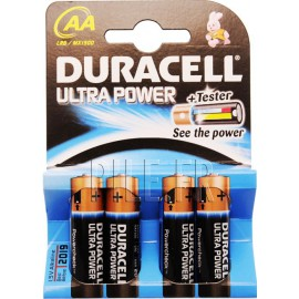 Piles LR6 AA DURACELL Ultra Power