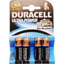 Piles LR6 AA DURACELL Ultra Power