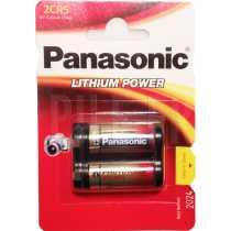 Pile 2CR5 lithium 6 volts Panasonic