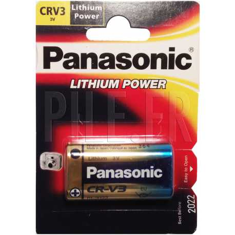 Pile CRV3 Panasonic 3 volts Lithium