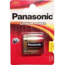 Pile CRP2L Panasonic lithium 6 volts
