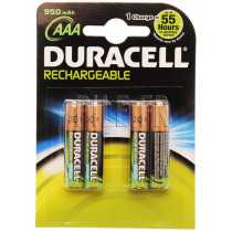 Piles LR03 DURACELL rechargeables AAA 800-750 mAh
