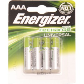 Piles LR03 AAA rechargeables Energizer 700 mAh