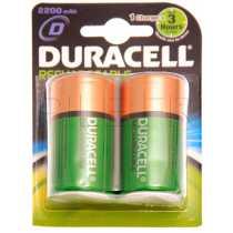 Piles LR20 D rechargeables 2200mAh Duracell