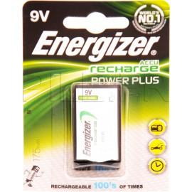 Pile 9V / 6LR61 rechargeable Energizer