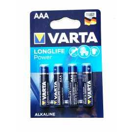 Piles AAA LR03 Varta LongLife Power