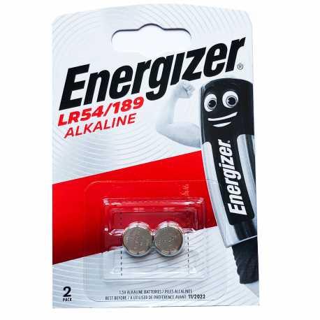 Piles LR54 LR1130 L1131H Energizer