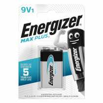 Pile 9V (6LR61) Energizer Max Plus