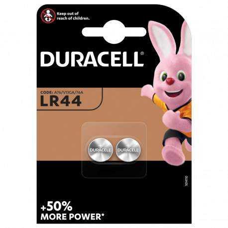Piles LR44 / AG13 DURACELL