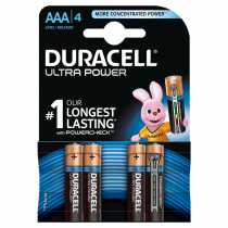 Piles LR03 AAA DURACELL Ultra Power