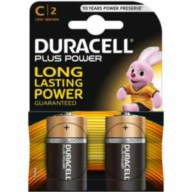Piles LR14 DURACELL Plus Power