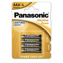 Pile LR03 AAA Panasonic Alcaline Power