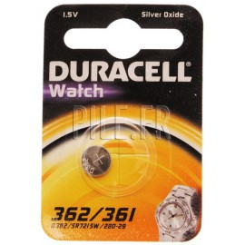 Pile SR58 D 362 / 361 Duracell